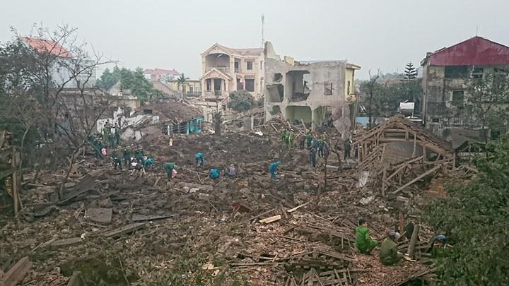 Nổ lớn ở Bắc Ninh: 2 cháu bé thiệt mạng
