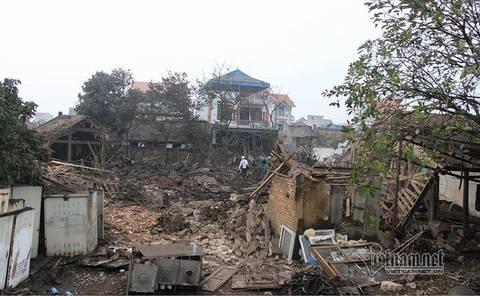 Nổ ở Bắc Ninh