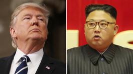 Ông Trump 'đe' có nút hạt nhân to hơn của Jong Un