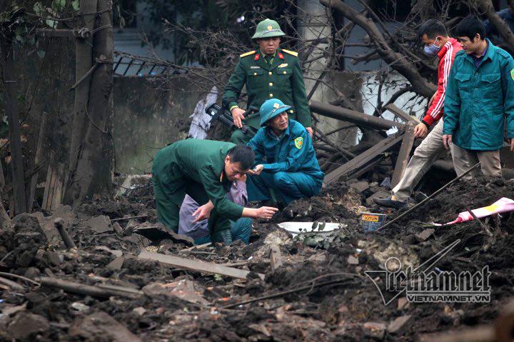 Hiện trường vụ nổ 2 cháu bé thiệt mạng ở Bắc Ninh