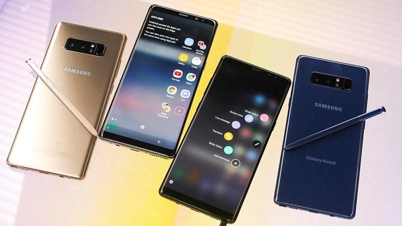 Samsung định bán 320 triệu smartphone năm 2018