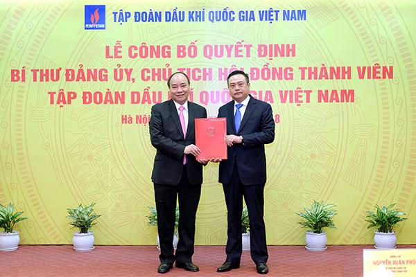 Thủ tướng trao quyết định bổ nhiệm Chủ tịch PVN