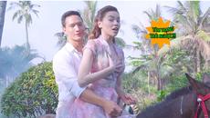Hậu trường Hồ Ngọc Hà, Kim Lý cưỡi ngựa trong MV 'Cả một trời thương nhớ'