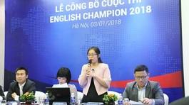 Hơn 25.000 thí sinh tranh tài khả năng tiếng Anh