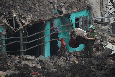 Vụ nổ ở Bắc Ninh: Cảnh tượng không ngờ
