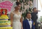 Đám cưới cổ tích của chú rể Thanh Hóa thấp hơn vợ nửa mét