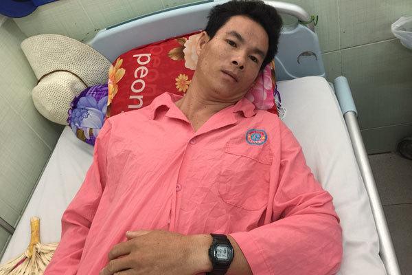 Anh Nguyễn Văn Huy đã phẫu thuật tim và được xuất viện