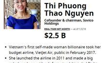 Hai năm 2 kỷ lục, nữ tướng Nguyễn Thị Phương Thảo găm túi 2,5 tỷ USD