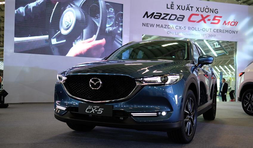 Tuần đầu 2018, ô tô Mazda đồng loạt giảm giá