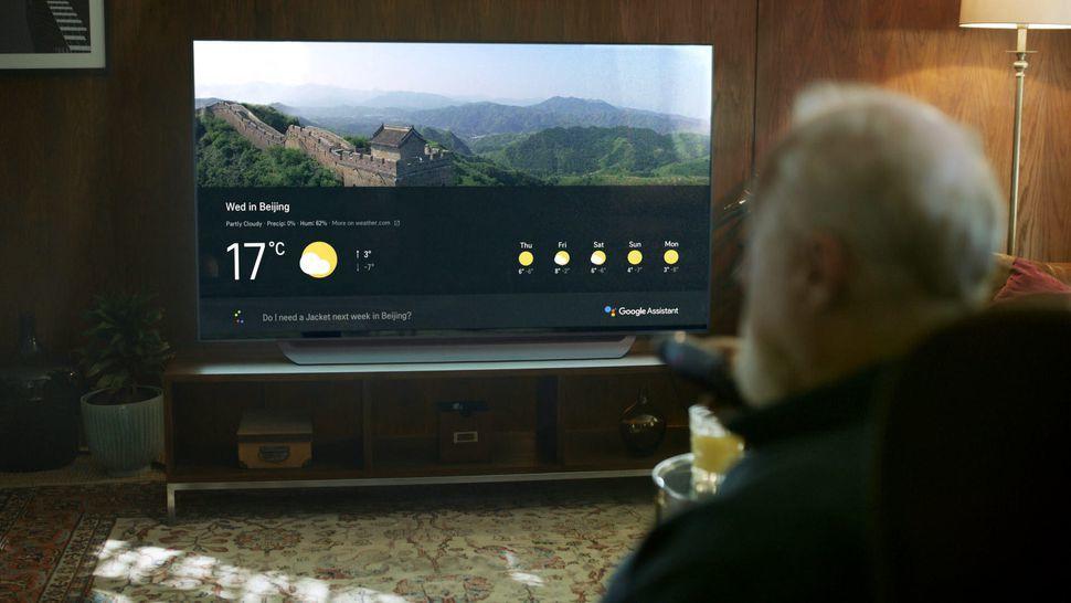 TV LG tích hợp trợ lý ảo Google Assistant, điều khiển bằng giọng nói