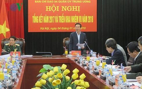 Ban Chỉ đạo 94 Quân ủy TƯ: Dự báo chính xác âm mưu, thủ đoạn mới