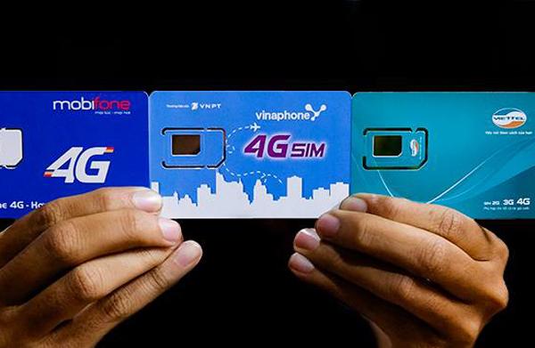 4g,mạng 4g,nhà mạng,vinaphone,viettel,mobifone,viễn thông