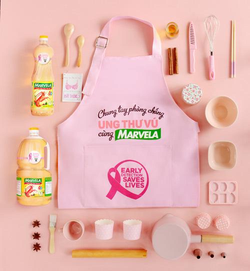 Marvela hưởng ứng chiến dịch phòng chống ung thư vú