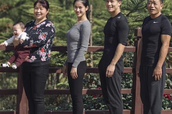 Cả gia đình chuyển bụng bự thành eo thon
