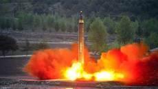 Triều Tiên trúng tên lửa của chính mình