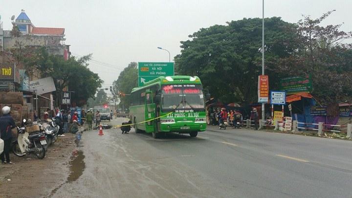 Xe khách Ôhô tông nam sinh lớp 10 tử vong trên đường đi học về