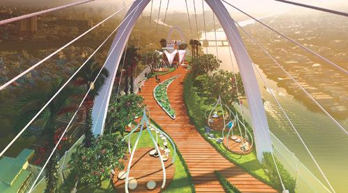 Diamond Lotus Riverside: công trình xanh chuẩn Mỹ, chất lượng Nhật