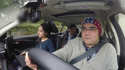 Nissan phát triển công nghệ lái ô tô bằng sóng não