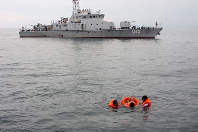 Hải quân Việt Nam - Campuchia tuần tra chung