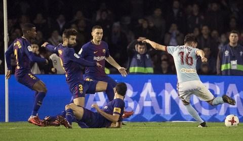 Celta Vigo 1-1 Barcelona