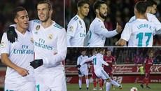 Bale ghi bàn, Real đặt một chân vào tứ kết Cúp nhà Vua