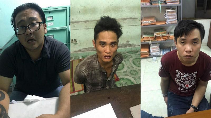 Bắt băng nhóm vụ dàn cảnh đánh người, cướp xe máy ở Sài Gòn