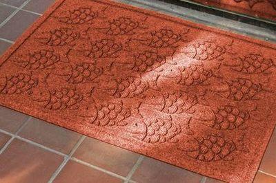 Hóa giải phong thủy xấu cửa chính với thảm chùi chân