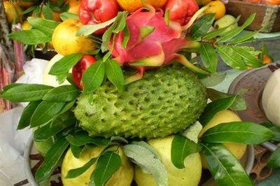Tăng vượng khí phong thủy bằng cách đặt trái cây trong nhà