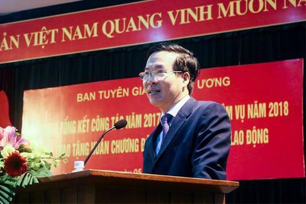 Ông Võ Văn Thưởng: Công tác tuyên giáo phải đi trước mở đường