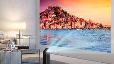 LG tiết lộ mẫu máy chiếu cao cấp 150 inch độ phân giải 4K