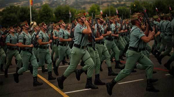 Hốt hoảng tình trạng béo phì của lính Tây Ban Nha
