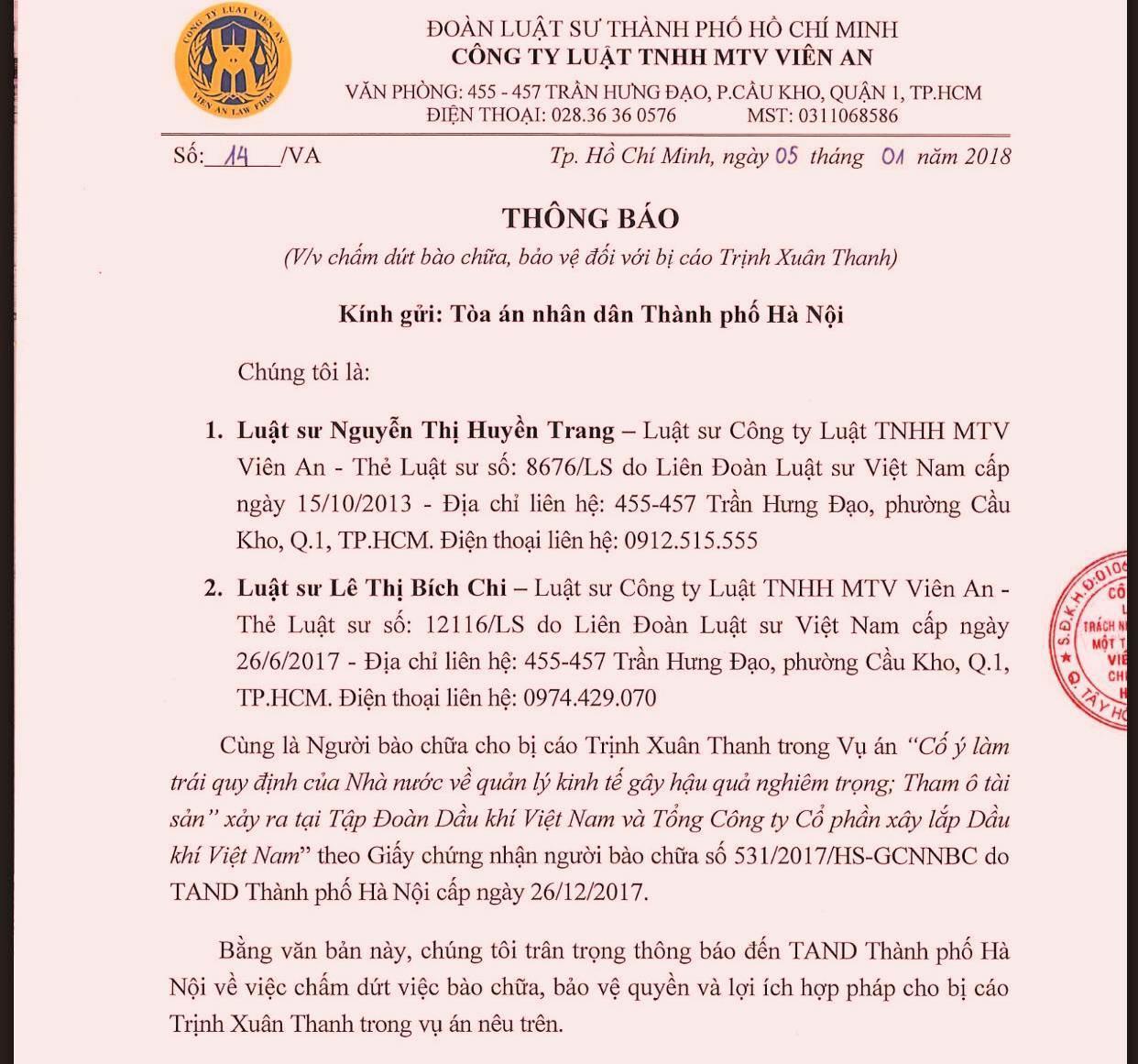 Đinh La Thăng,Trịnh Xuân Thanh,PVN,tham ô,cố ý làm trái