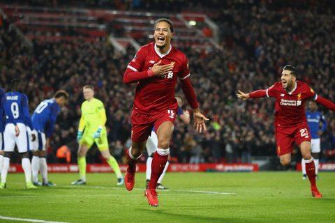 Video bàn thắng Liverpool 2-1 Everton