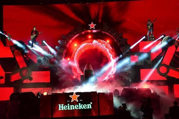 'Đại tiệc' du hành tới tương lai ấn tượng từ Heineken