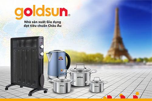 Goldsun: chất lượng là sinh mệnh thương hiệu