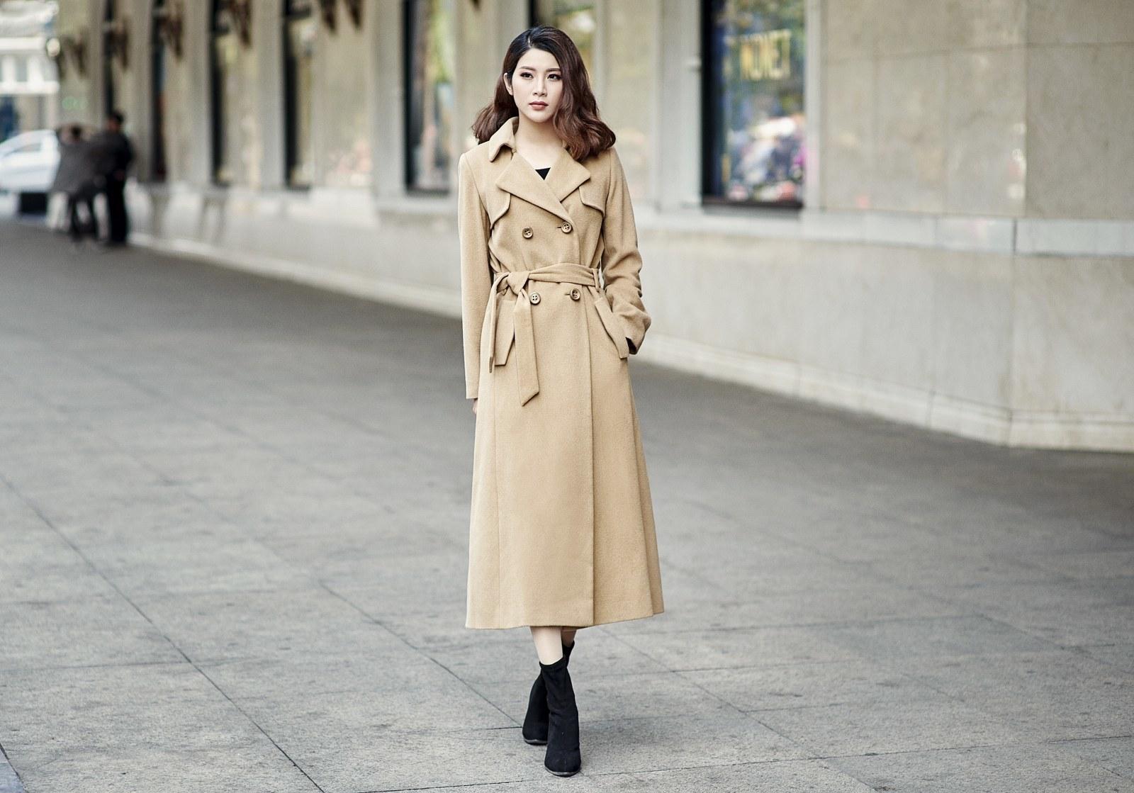 Yan My gợi ý trang phục xuống phố mùa đông