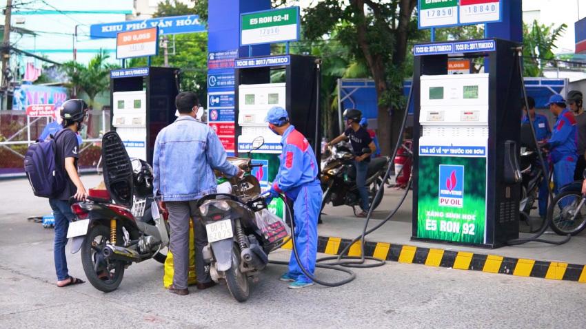 giá xăng,giá xăng dầu,xăng sinh học,xăng E5,xăng A95,xăng RON (5