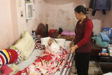 Cuộc sống thực vật của cô con dâu xinh đẹp sau vụ nổ Văn Phú