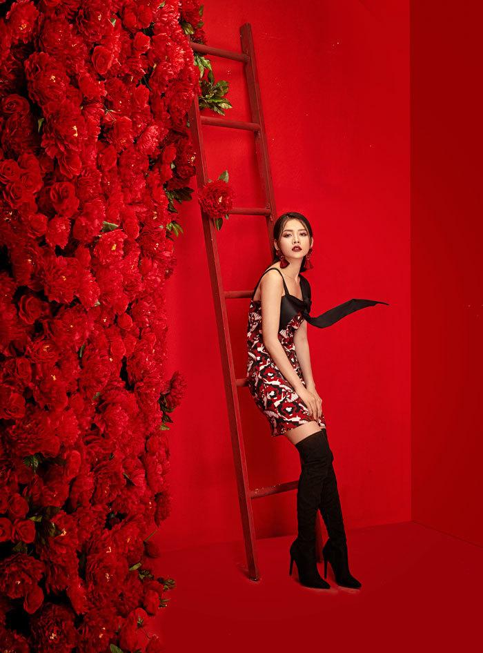 Chi Pu tung bộ ảnh ngọt ngào chào năm mới