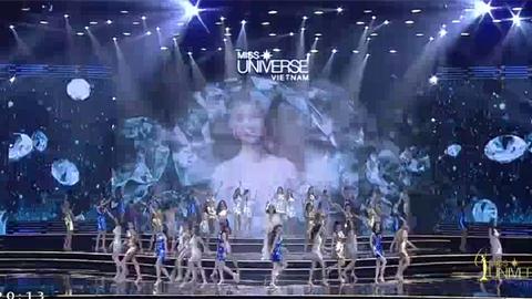 Phần mở màn Hoa hậu Hoàn vũ Việt Nam 2017