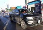 Ô tô đậu lỳ hơn 2 giờ phản đối BOT Sông Phan