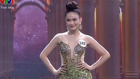 Phần trình diễn dạ hội của Top 10 - Hoa hậu Hoàn vũ Việt Nam 2017