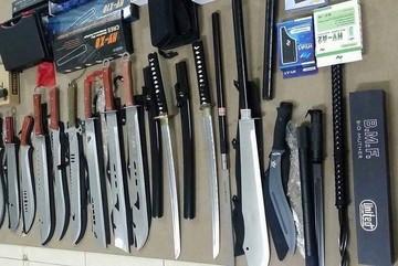 Triệt phá kho vũ khí 'khủng' của giang hồ Sài Gòn