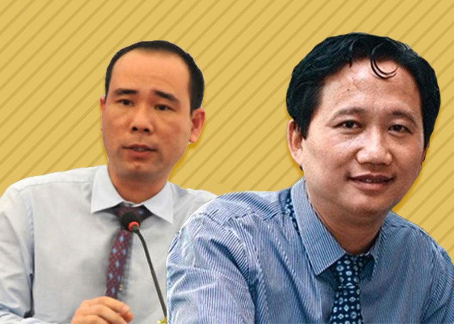 Đinh La Thăng,Tập đoàn Dầu khí,PVN,Trịnh Xuân Thanh,Xây lắp dầu khí Việt Nam,PVC,Phùng Đình Thực