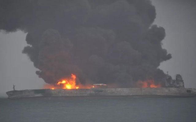 Đụng tàu trên biển, 32 người mất tích