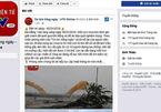Xuất hiện trang tin giả mạo VTV đăng tin cầu Rồng gãy đôi
