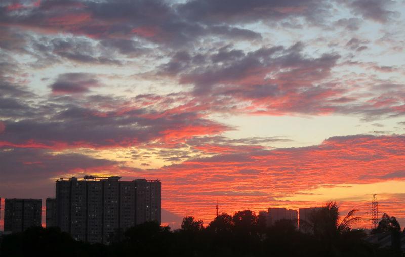hiện tượng kỳ bí,bầu trời,thời tiết,TPHCM
