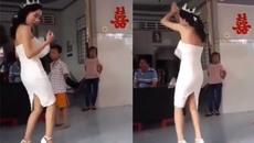 Cô dâu nhảy cực ngầu trong đám cưới
