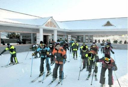 Bên trong khu nghỉ dưỡng trượt tuyết mới tinh của Triều Tiên