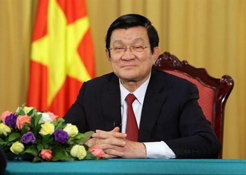 Trương Tấn Sang,nguyên Chủ tịch nước